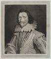 George Villiers, 1st Duke of Buckingham, by William Baillie, after  Daniel Mytens - NPG D19344