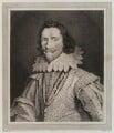 George Villiers, 1st Duke of Buckingham, by William Baillie, after  Daniel Mytens - NPG D19344