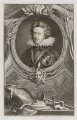 Henry, Prince of Wales, by Jacobus Houbraken, published by  John & Paul Knapton, after  Isaac Oliver - NPG D19357
