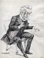 Edward Heron-Allen, by Harry Furniss - NPG D16456