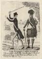 William Pitt; Henry Dundas, 1st Viscount Melville, by John Kay - NPG D16449
