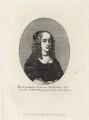 Princess Elizabeth, by Edmund Dorrell, after  Wenceslaus Hollar - NPG D16467