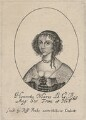 Henrietta Maria, probably by William Faithorne, published by  Sir Robert Peake - NPG D16470