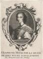 Henrietta Maria, published by Balthasar Moncornet, after  Unknown artist - NPG D16472