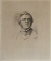 William Makepeace Thackeray, by Francis Holl, after  Samuel Laurence - NPG D19422