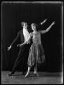 Alec Ross; Gladys Evelyn, by Bassano Ltd - NPG x103195