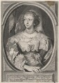 Henrietta Maria, by Pieter de Jode II, after  Sir Anthony van Dyck - NPG D16479