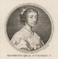 Henrietta Maria, by Simon François Ravenet, after  Sir Anthony van Dyck - NPG D16483