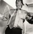 Melvyn Bragg, by Liam Woon - NPG x25121