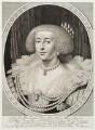 Henrietta Maria, by Willem Jacobsz Delff, after  Daniel Mytens - NPG D19461