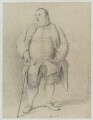 Francis Grose, after Nathaniel Dance (later Sir Nathaniel Holland, Bt) - NPG D19464