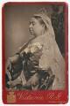 Queen Victoria, by Alexander Bassano - NPG x38284