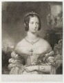Queen Victoria, by James Posselwhite, after  Henry Corbould - NPG D19495