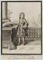 Prince James Francis Edward Stuart, by and published by Antoine Trouvain - NPG D19540