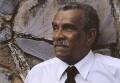 Derek Walcott, by Horace Ové - NPG x126732