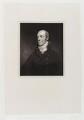 William Wyndham Grenville, 1st Baron Grenville, by Thomas Anthony Dean, after  John Jackson - NPG D19558