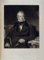 Sir Walter Scott, 1st Bt, by John Henry Robinson, printed by  Lloyd & Henning, published by  Moon, Boys & Graves, after  Sir Thomas Lawrence - NPG D19563