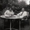 Michael Fitzhardinge Berkeley; Sir Lennox Randal Francis Berkeley, by George Newson - NPG x33544