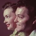 Elizabeth Flynn; Dickie Valentine (né Richard Brice), by (Edward) Russell Westwood - NPG x126495