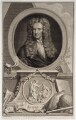Sir Isaac Newton, by Jacobus Houbraken, after  Sir Godfrey Kneller, Bt - NPG D19601