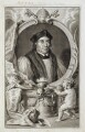 John Fisher, by Jacobus Houbraken, after  Hans Holbein the Younger - NPG D19611