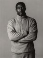 Linford Christie, by Trevor Leighton - NPG x47374