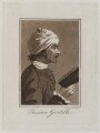 Theodore Gardelle, by Samuel Ireland, after  William Hogarth - NPG D19638