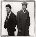 Sir John Hurt as 'Stephen Ward' and Ian McKellen as 'John Profumo' in 'Scandal', by Trevor Leighton - NPG x35320