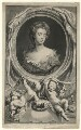 Sarah Churchill (née Jenyns (Jennings)), Duchess of Marlborough, by Jacobus Houbraken, published by  John & Paul Knapton, after  Sir Godfrey Kneller, Bt - NPG D16554