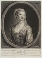 Lavinia Fenton, Duchess of Bolton, by John Faber Jr, after  John Ellys - NPG D19653