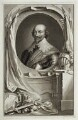 Robert Bertie, 1st Earl of Lindsey, by Jacobus Houbraken, after  Cornelius Johnson - NPG D19656