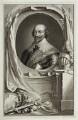 Robert Bertie, 1st Earl of Lindsey, by Jacobus Houbraken, after  Cornelius Johnson - NPG D19656