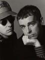Pet Shop Boys (Chris Lowe; Neil Tennant), by Trevor Leighton - NPG x35746