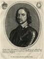 Oliver Cromwell, published by Balthasar Moncornet, after  Robert Walker - NPG D16576