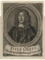 Titus Oates, by Cornelius Nicolas Schurtz, after  Thomas Hawker - NPG D16601