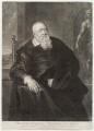 Sir Theodore Turquet de Mayerne, by John Simon, after  Sir Peter Paul Rubens - NPG D19704