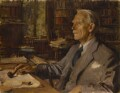 Sir Arthur George Tansley, by Wilfrid Gabriel de Glehn - NPG 6737