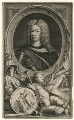 John Churchill, 1st Duke of Marlborough, by Jacobus Houbraken, published by  John & Paul Knapton, after  Sir Godfrey Kneller, Bt - NPG D16630