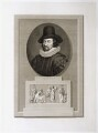 Francis Bacon, 1st Viscount St Alban, by C. Blackberd, published by  Robert Bowyer - NPG D19822