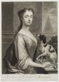 Mary Montagu (née Churchill), Duchess of Montagu, by John Simon, published by  Edward Cooper, after  Charles D'Agar - NPG D19841