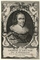 George Villiers, 1st Duke of Buckingham, by A.P., after  D.F. - NPG D16666