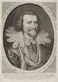 George Villiers, 1st Duke of Buckingham, by Willem Jacobsz Delff, after  Michiel Jansz. van Miereveldt - NPG D19862