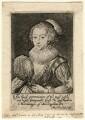 Katherine Villiers (née Manners, later MacDonnell), Duchess of Buckingham, by Magdalena de Passe - NPG D16671
