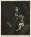 Caspar Netscher, by Wallerant Vaillant, after  Caspar Netscher - NPG D16716