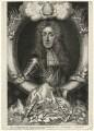 King James II, by George Vertue, after  Sir Godfrey Kneller, Bt - NPG D16729