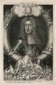 King James II, by George Vertue, after  Sir Godfrey Kneller, Bt - NPG D16727