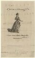 Mrs Jackson (née Browne), after Unknown artist - NPG D16741
