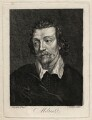 John Milton, by C. Widder, after  Peter Vandyke - NPG D16769