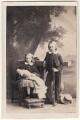 Frances Charlotte Haig (née Harris); George Robert Canning Harris, 4th Baron Harris, by Camille Silvy - NPG Ax46397