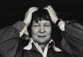 Iris Murdoch, by Jane Bown - NPG x28628